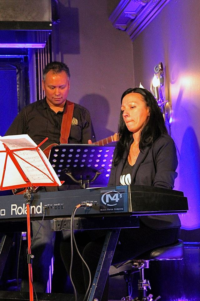 Elisa with Amina Figarova
